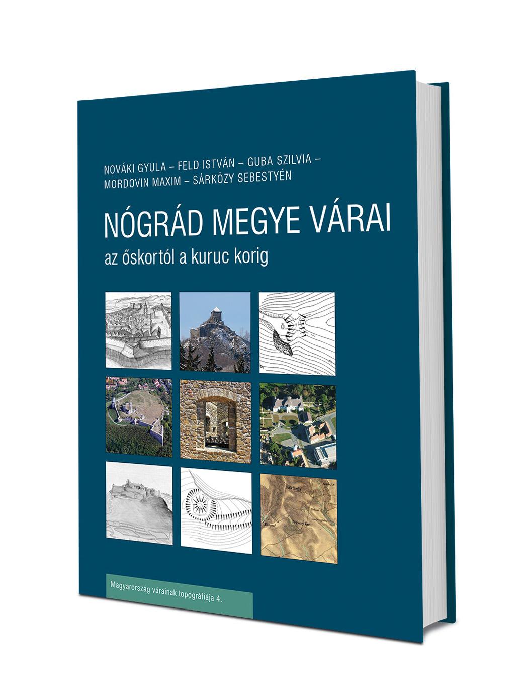 Nógrádi várak könyv
