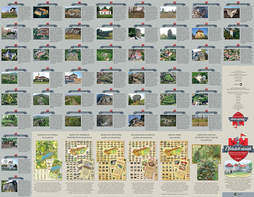 Elfeledett Váraink - Légifotóink segítségével újabb látványtérkép készült